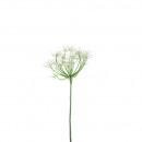 Großhandel Kunstblumen: Allium Pick  Nalia  H33cm, weiß